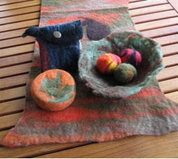 Felted Holiday Gifts Jo Ann Manzone
